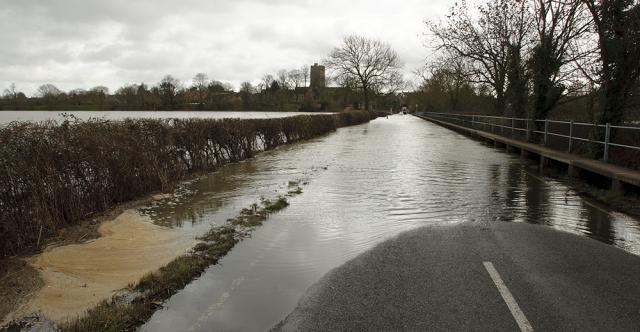 Driving Tips for Spring Rains on Flooded Plains